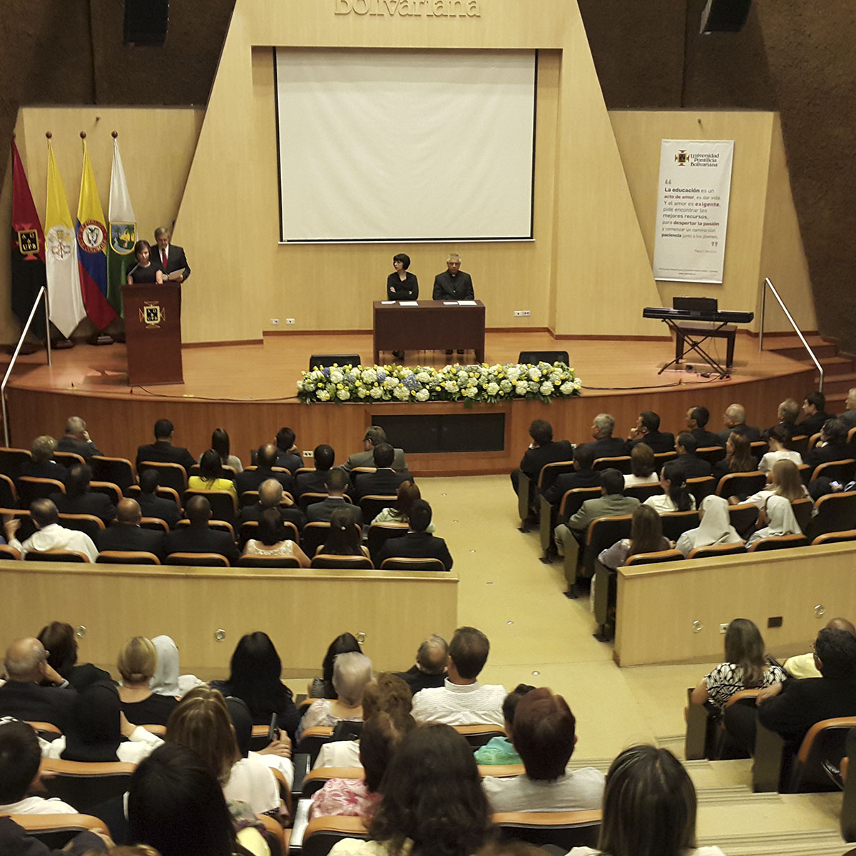 Doctorado Honoris Causa Santa Laura Montoya