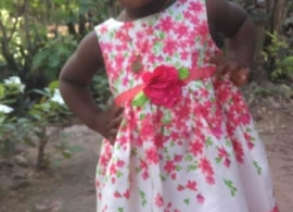 Niña haitiana