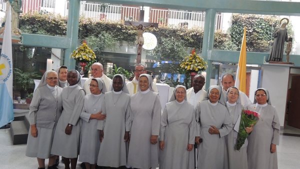 Celebraciones Bodas de Oro en el Ave María - Bogotá