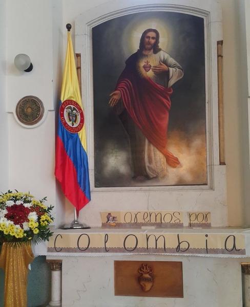 Jornada de oración por la paz de Colombia