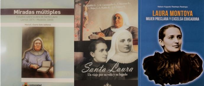 Lanzamiento de dos nuevos libros sobre Santa Laura