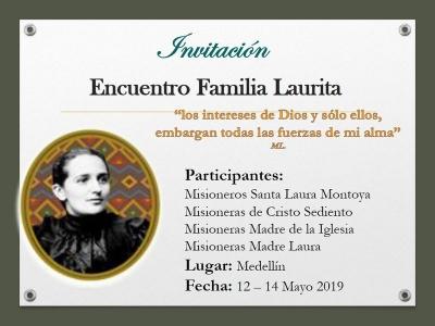 Encuentro Familia Laurita