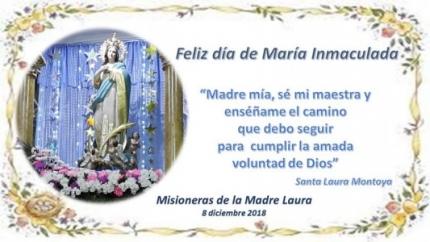 Fiesta de María Inmaculada