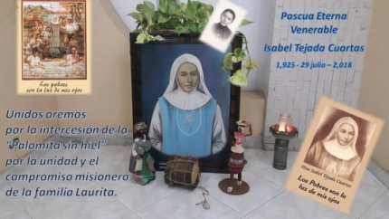 Isabel Tejada Cuartas, Pascua Eterna