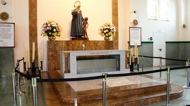 Reliquia Santa Laura Montoya