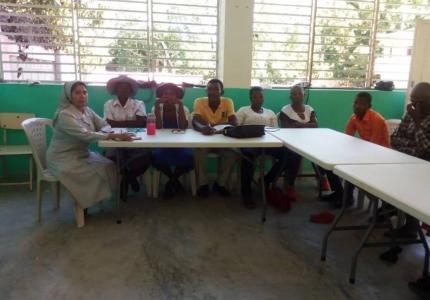 Reunión con la comunidad - Haití