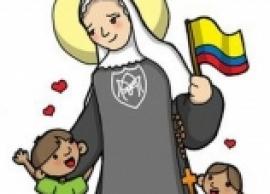 Santa Laura Montoya para los niños